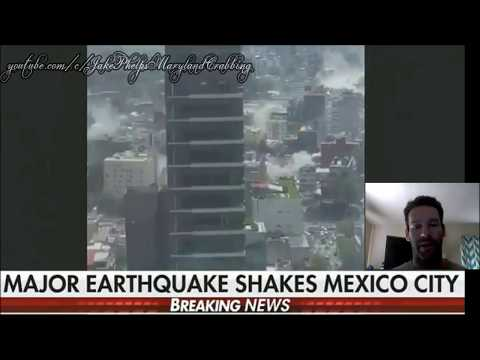 Earthquake Today Mexico City - Huge - Breaking Video