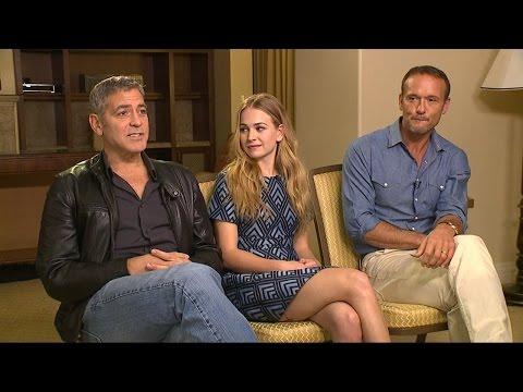 George Clooney Talks 'Tomorrowland,' Life with Amal