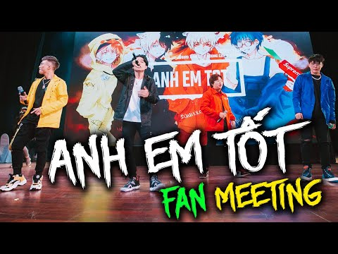 ANH EM TỐT REMIX | LIVE | Fan meeting Hero Team [Official Video]