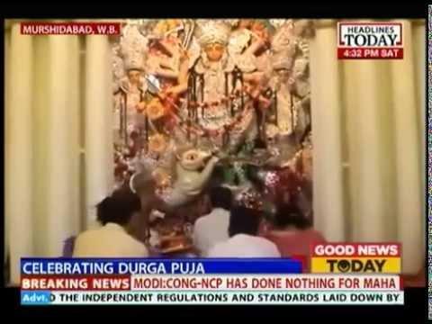 Good News Today: Durga Puja celebrations in Kolkata's red light area