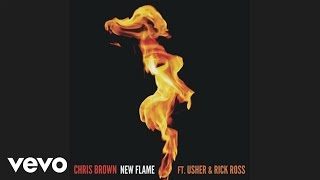 Chris Brown Video - Chris Brown - New Flame (Audio) ft. Usher, Rick Ross