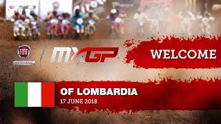 Welcome to the Fiat Professional MXGP of Lombardia 2018 #motocross