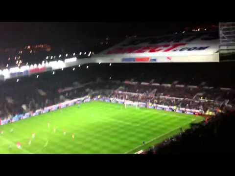 Cabaye goal against Man U