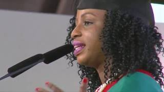 Kemi Onabanjo, Class of July 2016 Valedictorian Speech