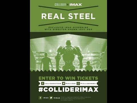"LIVE From IMAX HQ - Q&A With ""Real Steel"" Director Shawn Levy! #ColliderIMAX"