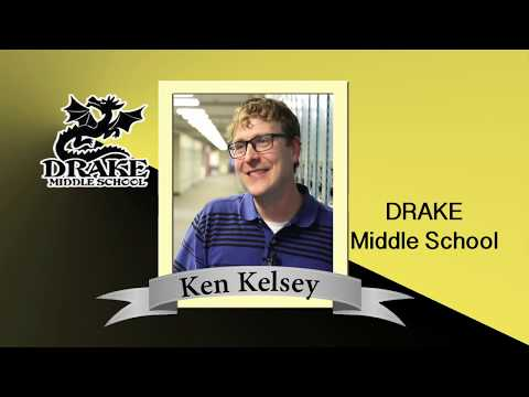Drake Middle School Super Teacher Ken Kelsey