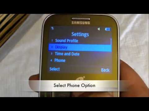 Straight Talk Samsung S390g How to Disable Auto Key Lock