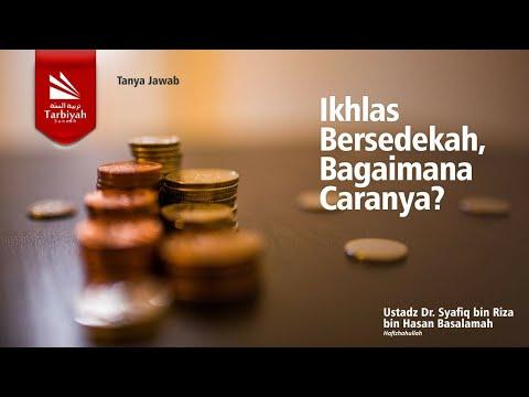 Soal Jawab | Ikhlas Dalam Bersedekah, Bagaimana Caranya..?? - Ustadz Syafiq Riza Basalamah, MA.