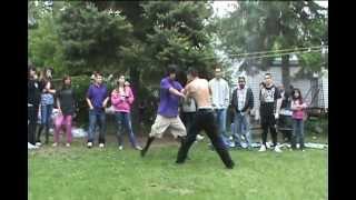 BackYard MMA Fight Part 1