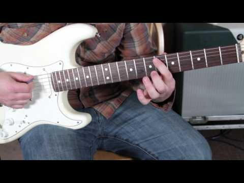 Eric Clapton JJ Cale - After Midnight - Blues Rock Guitar Lesson