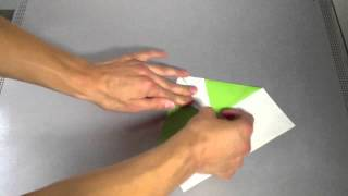 Origami Flieger: Arrow / Anleitung Zum Papier Flieger Falten