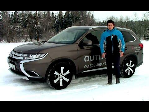 2016 Test Mitsubishi Outlander 2.2 DI-D INSTYLE