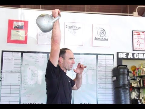 Kettlebell Shoulder Press with Jeff Martone Image 1