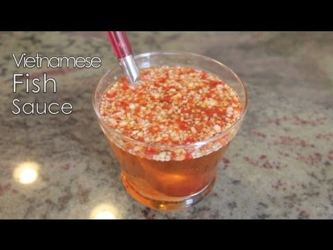 Vietnamese dipping fish sauce nuoc mam cham for Vietnamese fish sauce recipe