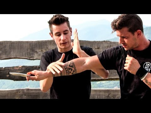 Krav Maga Training • How To Survive A Knife Attack (part 4) video