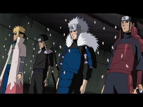 Naruto Shippuden Episode 365 -ナルト- 疾風伝 Review -- Orochimaru & The 4 Hokage Who Know Everything