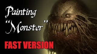 "Speedpainting - ""Monster"" (FAST VERSION)"