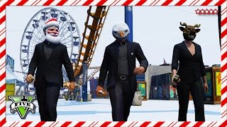 GTA 5 First Person SNOWBALL Fight | 12 Days of Christmas | GTA 5 TDM Showdown | GTA V Funny Moments