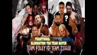 WWE Survivor Series 2012 Full Match Card