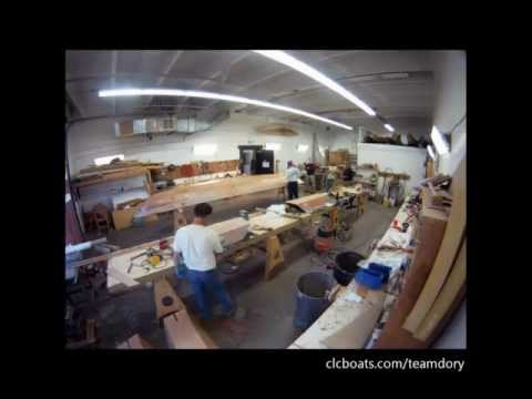 CLC Team Dory: Building Hull #1