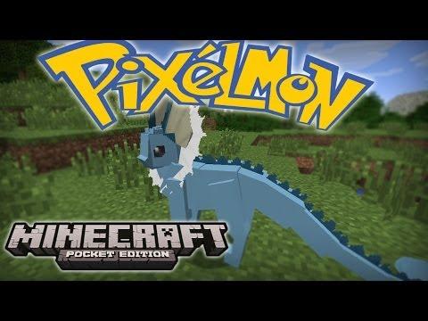 Minecraft PE: POKECUBE! PIXELMON MOD