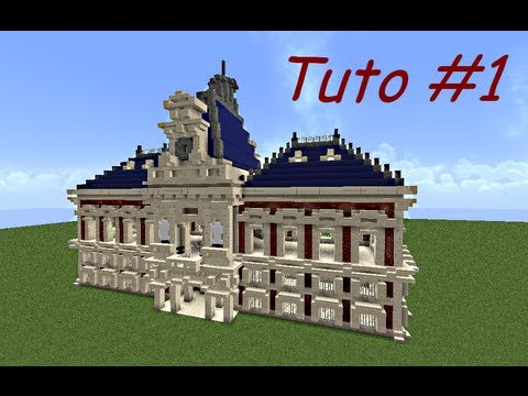 Minecraft tuto b timent 18 me si cle partie 1 3 youtube - Batiment moderne ...