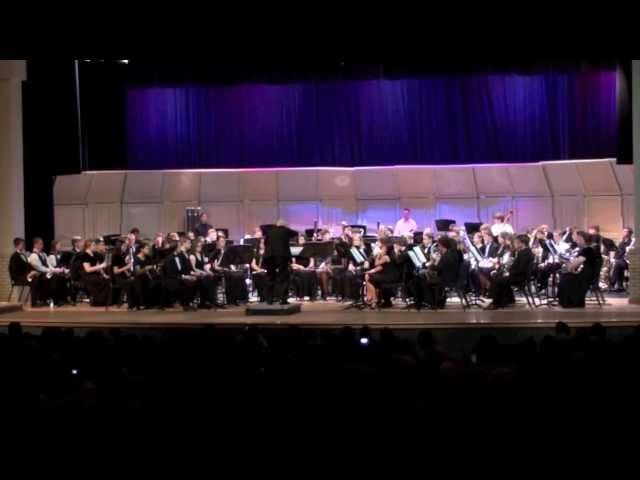 Giles Farnaby Suite, Volusia All County High School Band, 2012