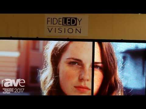 ISE 2017: Stewart Filmscreen Demonstrates FIDELEDY Vision 40 LED Image Enhancement System