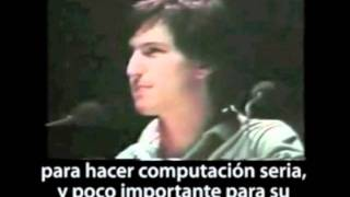 Steve Jobs present Macintosh 1984, apple history,