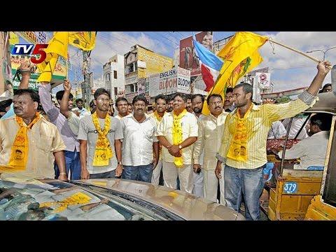 TDP Bandh in Nalgonda | Errabelli,Motkupalli Arrest : TV5 News