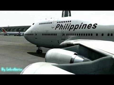 Philippine Airlines (PMDG B747-400) @ Dubai Intl. Airport
