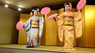 Kyomai Hanagasa Gion Kobu 花の宴 21 04 2017