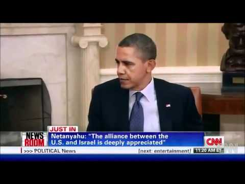 Binyamin Netanyahu to Barack Obama -