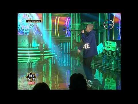 Yo Soy Kids: ¡Eminem empezó la gala y cantó My Name Is