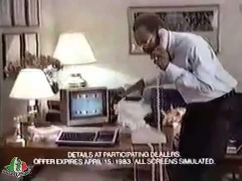 Pubblicità Commerciale del TI-99/4A - $100 Rebate - con Bill Cosby