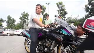Kawasaki ninja krr 150 ala thailand