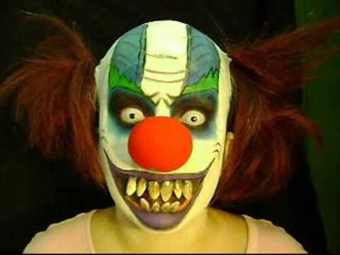 Halloween Series. Scary Clown