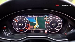 2016 Audi A4 Official test drive