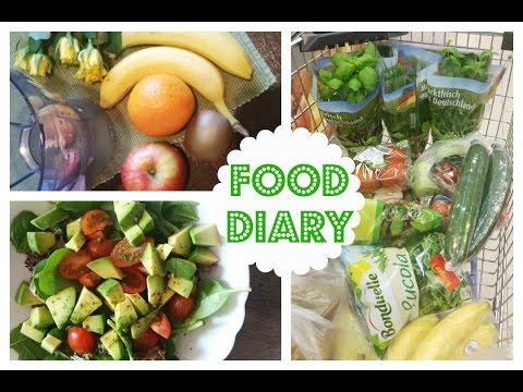 FOOD DIARY   Fully Raw   Meine Erfahrungen