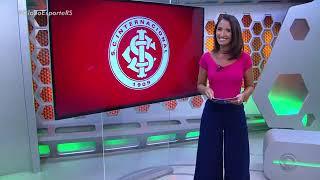 Globo Esporte RS - Inter volta a fazer treinos com os portões fechados às vésperas contra o Avenida