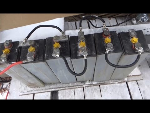 Its All About The Batteries Forklift Battery For Home Solar Power