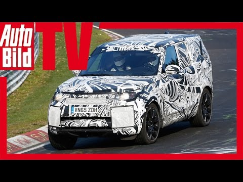 Land Rover Discovery Erlkönig (2017)