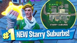NEW Starry Suburbs Location + How to find Legendary Tactical SMG - Fortnite Battle Royale