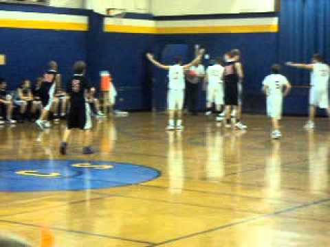 Kevin Kemp Lee Christian School Basketball 12/3/10 Part 5