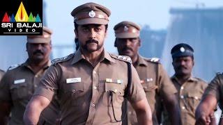 Singam (Yamudu 2) Telugu Movie Part 9/14   Suriya, Hansika, Anushka   Sri Balaji Video