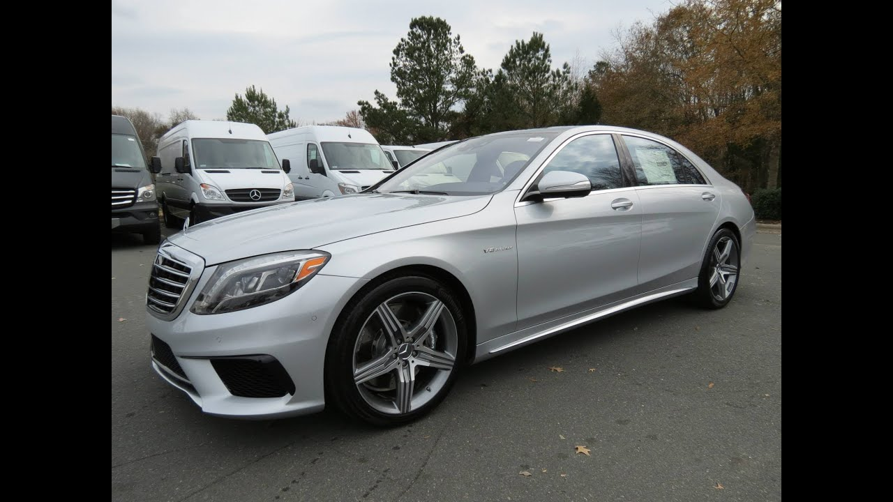 2014 Mercedes Benz S63 Amg 4matic Start Up Exhaust And
