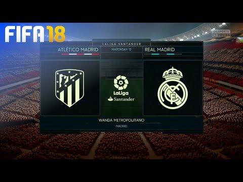FIFA 18 - Atlético Madrid vs. Real Madrid @ Wanda Metropolitano thumbnail