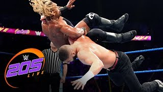 Ariya Daivari vs. Chris Bey: WWE 205 Live, Oct. 11, 2019