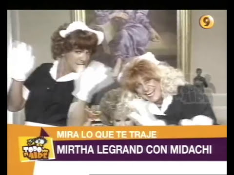 TPA   Mirtha Legrand con Midachi 1992
