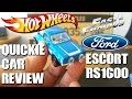 QUICKIE CAR REVIEW   1970 FORD ESCORT RS1600 MK1   Seen Briefly In FAST & FURIOUS 6